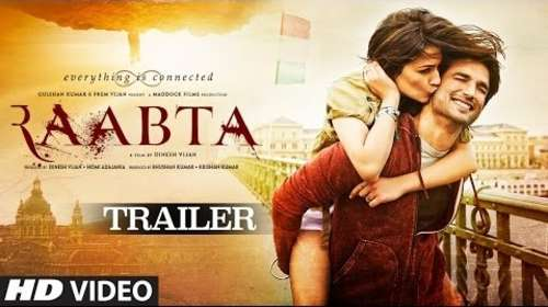 Raabta 2017 Hindi HD Official Trailer 720p