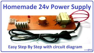 make 24v adapter or DC power supply