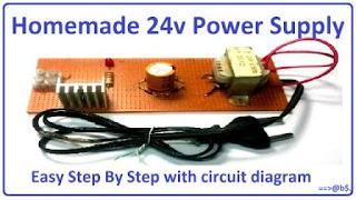 make 24v adapter or DC power supply