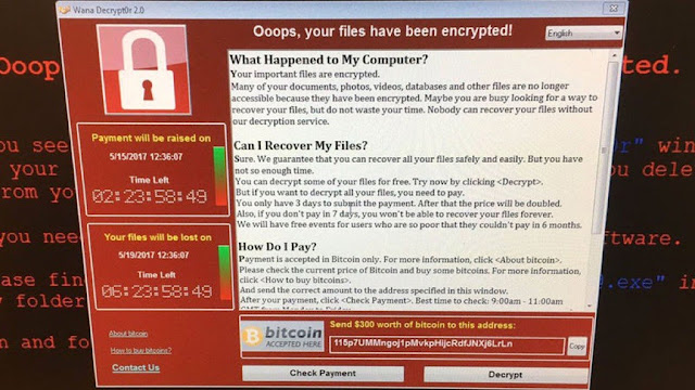 Wanna Cry ransomware attack