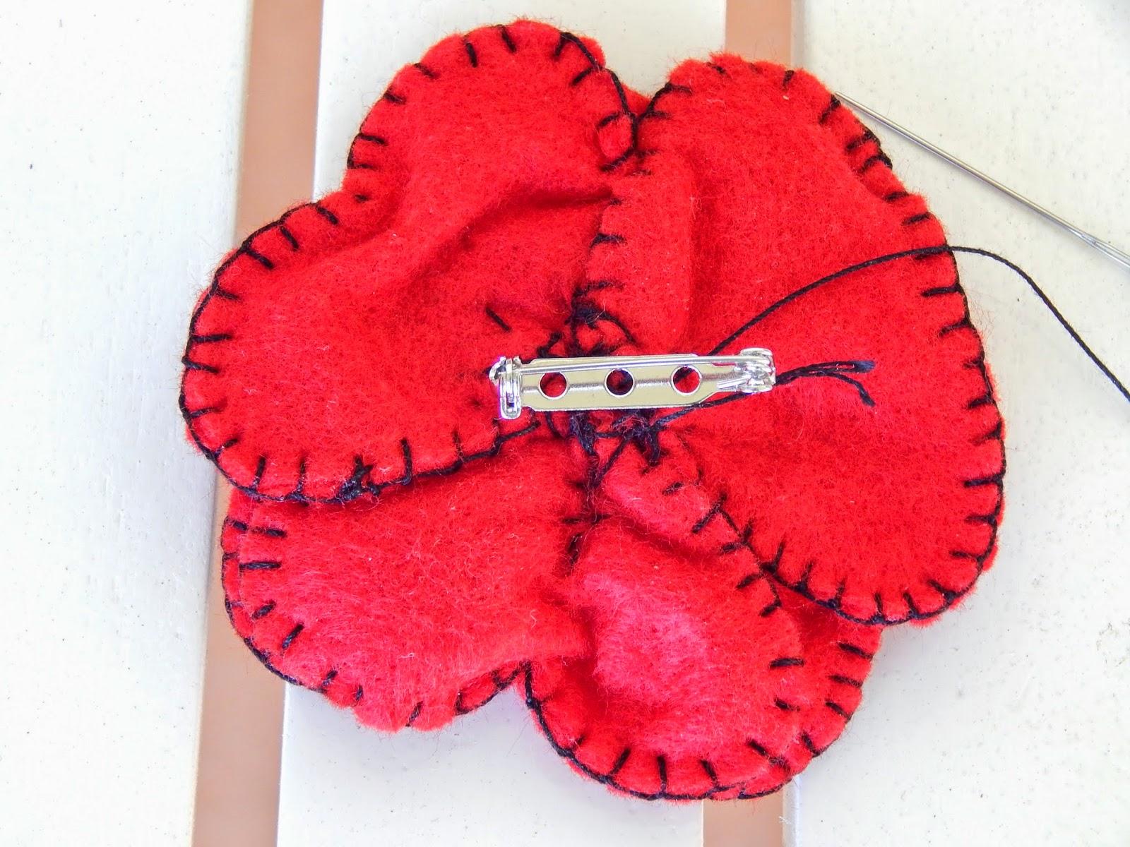 carollyn u0027s tatting blog making felt veterans day poppy