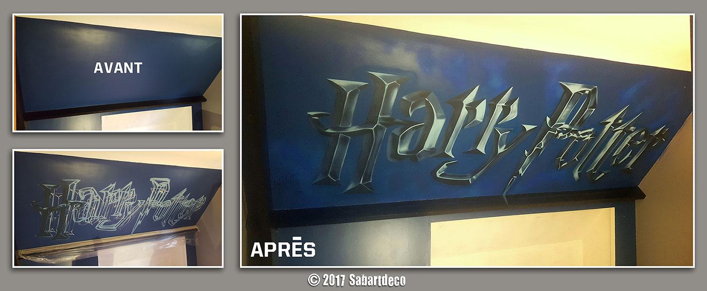 """Décoration Chambre enfant sur le thème """" Harry Potter """" à Nieppe"""