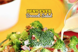 ★★★★★ |   THE BEST EVER BROCCOLI SALAD