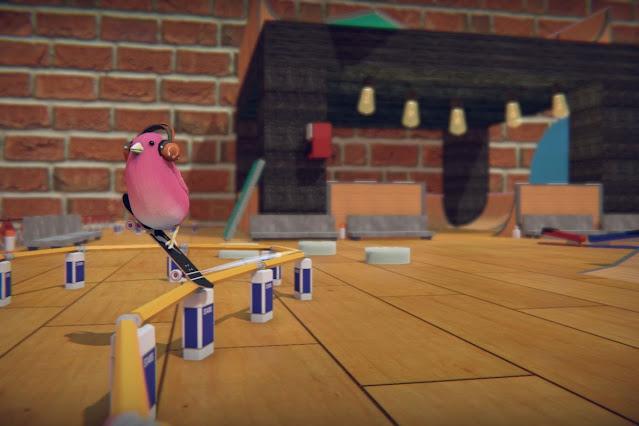 Análise: Skatebird não consegue acertar suas manobras no Switch