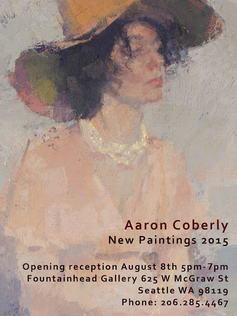 Aaron Coberly: Show of New Paintings