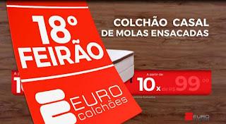 Euro Colchões lança campanha para 18º Feirão com filmes para TV