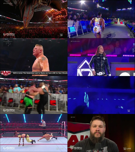 WWE Monday Night Raw 16 March 2020 720p HDTV