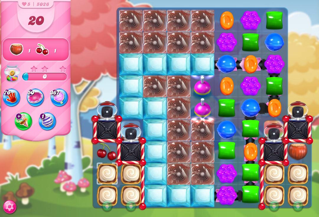 Candy Crush Saga level 5026