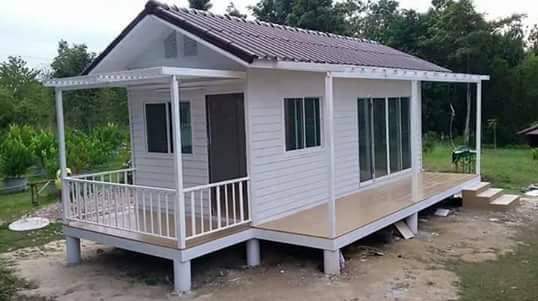desain rumah kayu ukuran kecil