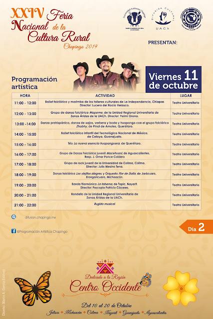 programa feria cultura rural chapingo 2019