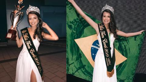Miss Teen Earth 2019 es Brasil