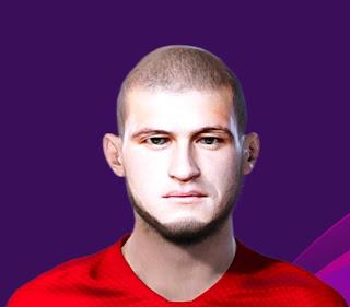 PES 2020 Faces Ayaz Guliev by Korneev