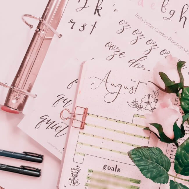 Guaranteed Ways to Quickly Improve Your Calligraphy + Hand Lettering