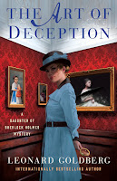The Art of Deception: A Daughter of Sherlock Holmes Mystery by Leonard Goldberg