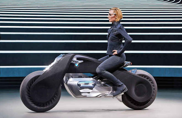 BMW Futuristic Motorcycle