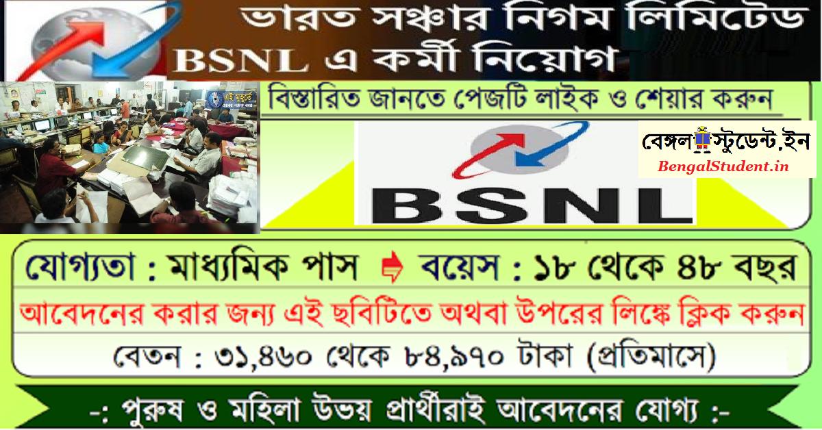 BSNL Apprentice Recruitment Apply 2020