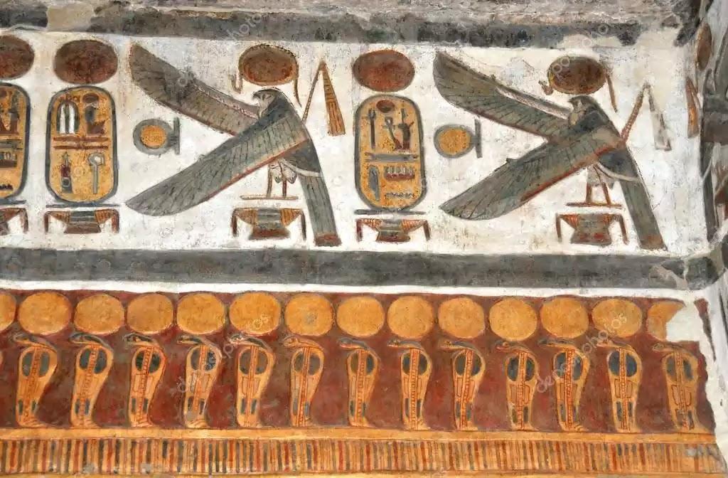 Ancient Egypt Birds