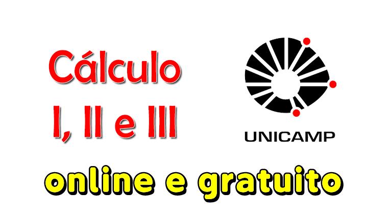 Unicamp oferece cursos de cálculo gratuitos e online