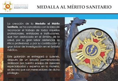 medalla al merito sanitario ramon y cajal