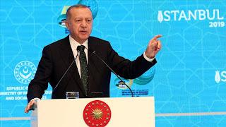 أردوغان: بدئنا العمل على إسكان مليون شخص شمالي سوريا