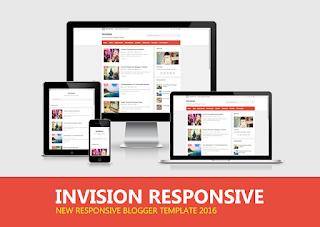 Invision Responsive Blogger