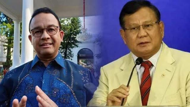 Survei saat Wabah Corona, Prabowo dan Anies Dijagokan Maju Pilpres 2024