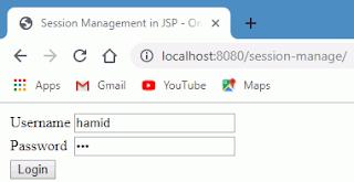 Session Management with JSP