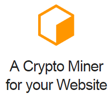 a crypto miner for your website