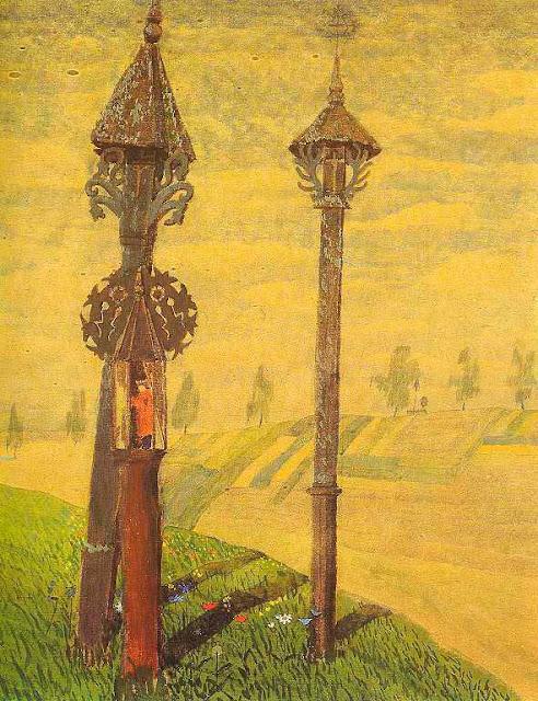 Чюрлёнис Микалоюс Константинас - Придорожные кресты Жемайтии. 1909