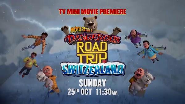 Motu Patlu's Dangerous Road Trip In Switzerland Full Movie In Tamil