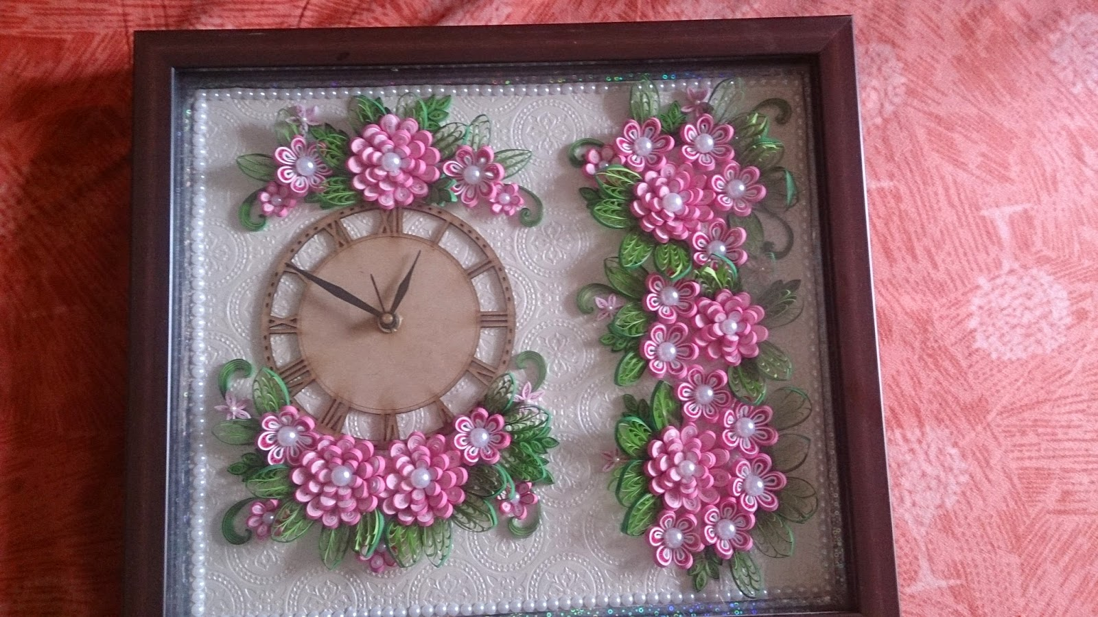 Love for Quilling: Quilled Clock