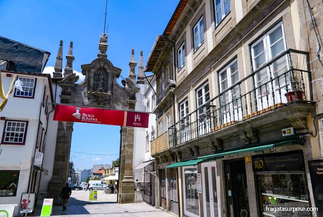 Arco da Porta Nova, Braga, Portugal