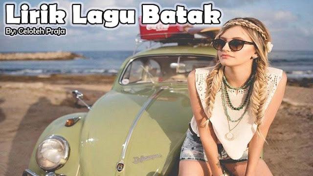 Lirik Lagu Batak Pulo Samosir  Laope Au Marhuta Sada