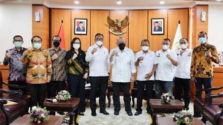 rapat koordinasi penyelesaian Tanah Surat Ijo Kota Surabaya