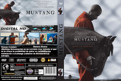 CARATULA MUSTANG - THE MUSTANG - 2019 [COVER DVD]