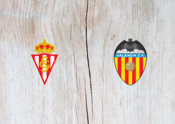 Sporting Gijon vs Valencia -  Highlights 8 January 2019