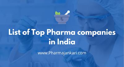 Pharma Companies in India