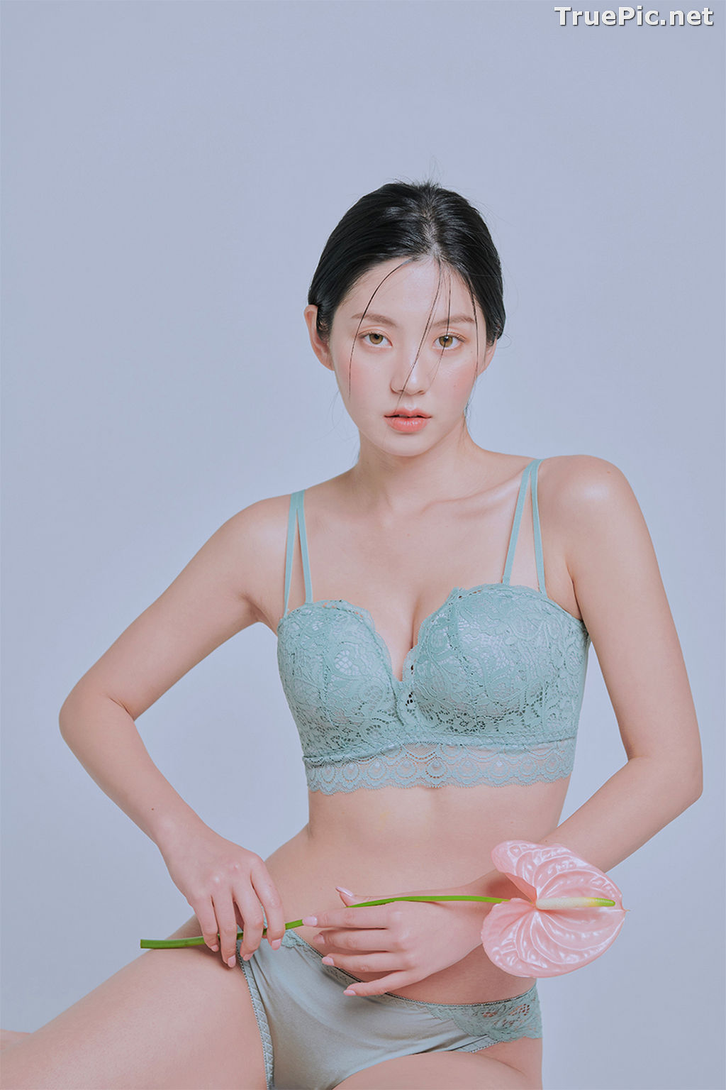 Image Korean Fashion Model – Lee Chae Eun (이채은) – Come On Vincent Lingerie #4 - TruePic.net - Picture-5