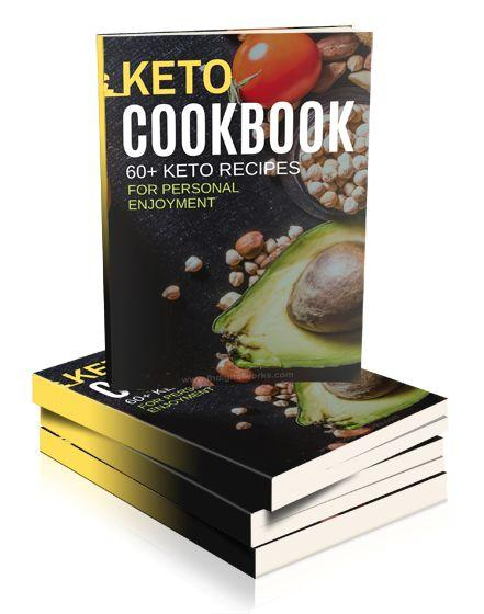 The Keto Diet Cookbook is a collection of 60+ delicious recipes