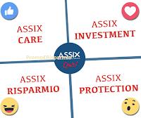 Logo Gioco settimanale Assix e vinci gratis accessorio Smartphone