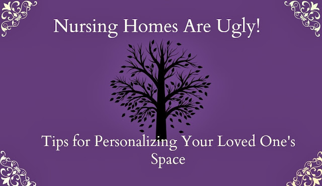 Decorating a nursing home room tree decal