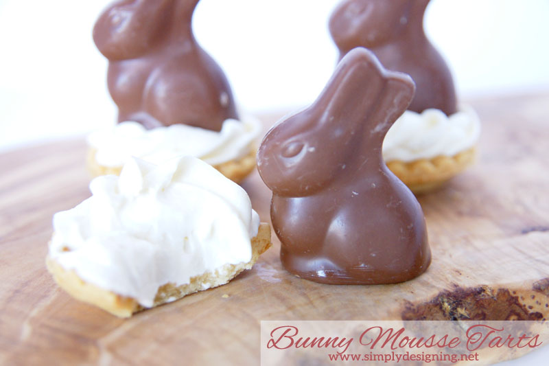 Easter Tarts | These are so simple to make but taste incredible!  Perfect for an Easter or Spring time Dessert!  | #easter #bunny #recipe #easterrecipe