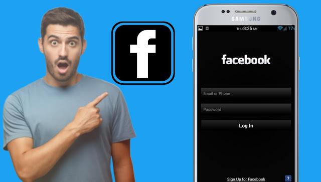 تحميل فيسبوك اسود Facebook Dark Mode للاندرويد احدث اصدار