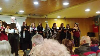 Οι όμορφες μελωδίες της χορωδίας Μουσική Αργώ μάγεψαν τους φίλους της για μια ακόμη φορά