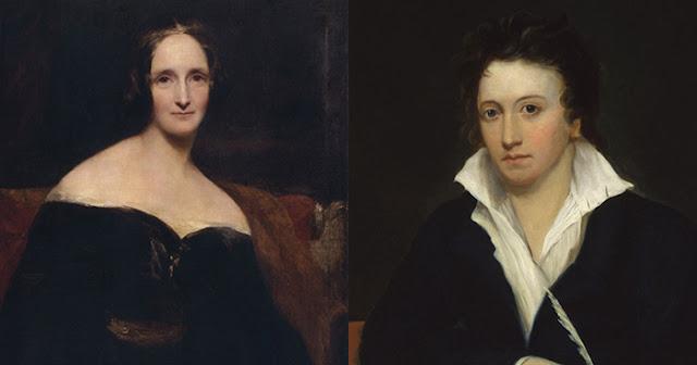 Mary e Percy Bysshe Shelley