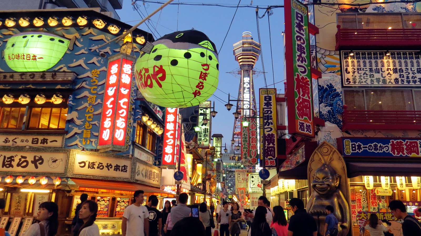 【日本自由行】通天閣,大阪的精神象徵,卻也是令人失望的景點? - 咖尼馬管家的筆記