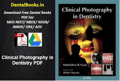 Clinical Photography in Dentistry PDF