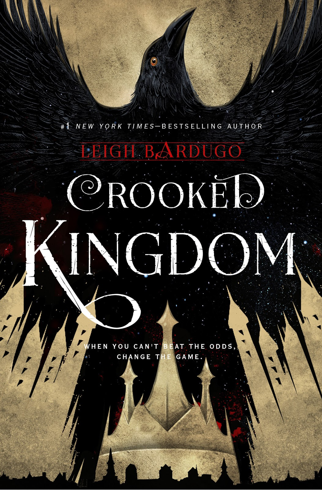 Crooked Kingdom Leigh Bardugo Six Of Crows cover