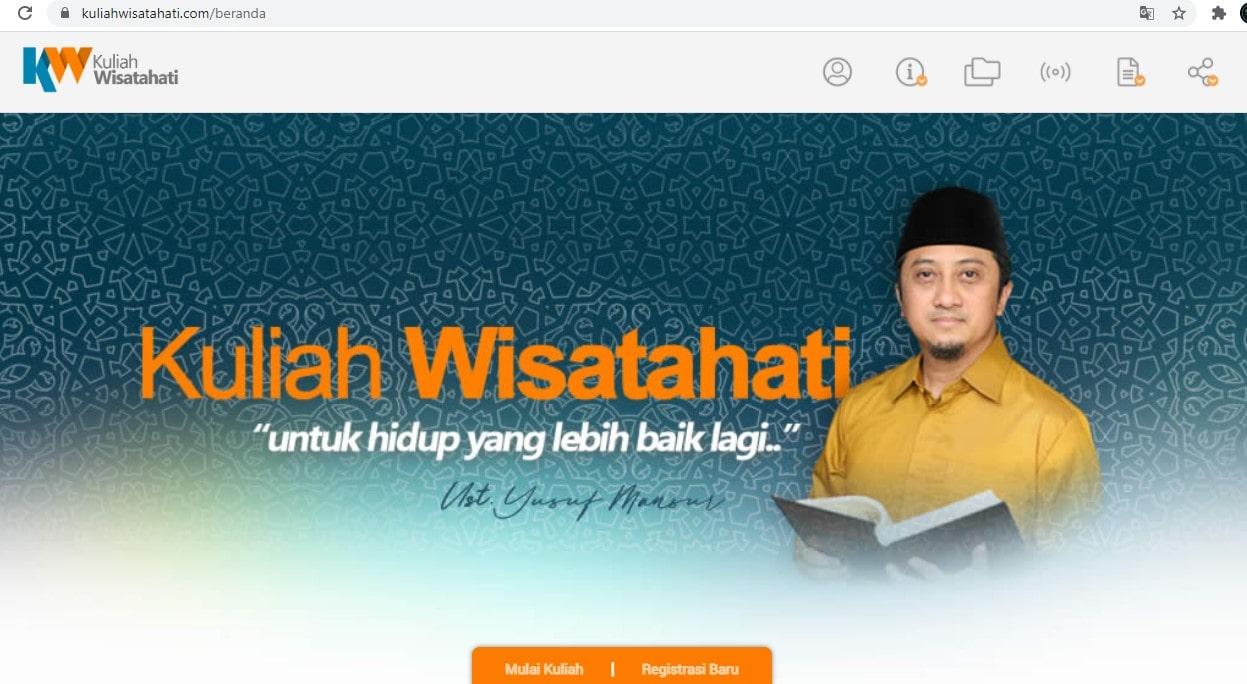 Kuliah Online Ustadz Yusuf Mansur Di KuliahWisatahati