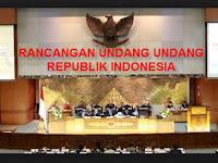 RANCANGAN UNDANG UNDANG REPUBLIK INDONESIA
